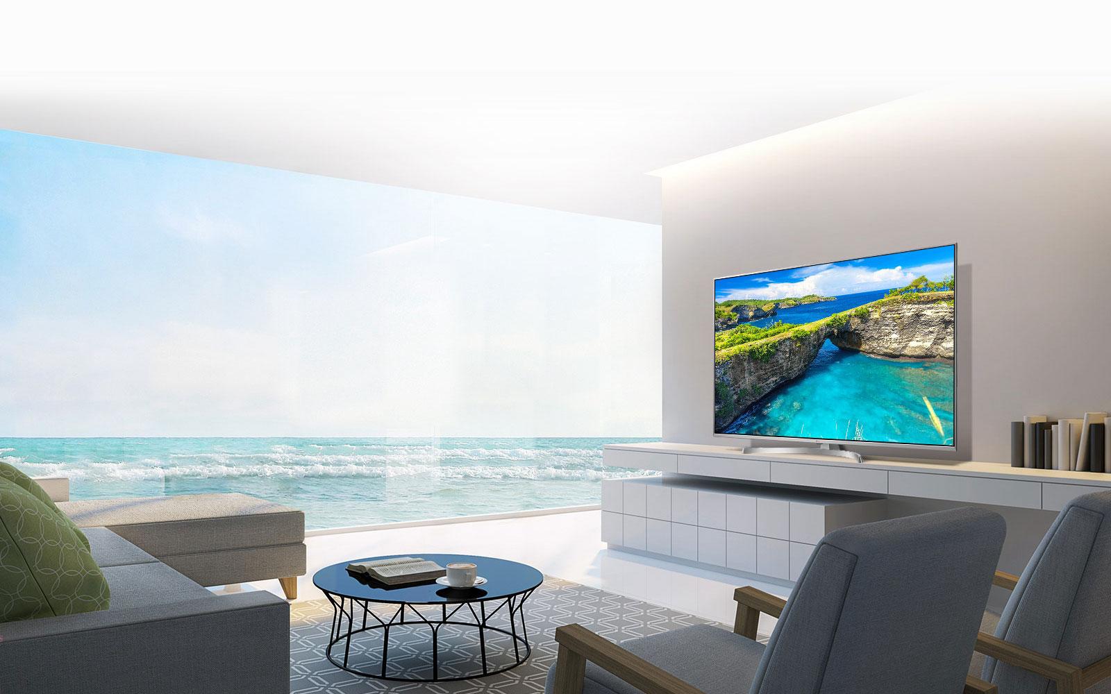 طراحی زیبا به همراه کیفیت فوق العاده تصویر در تلویزیون های هوشمند و 4K ال جی