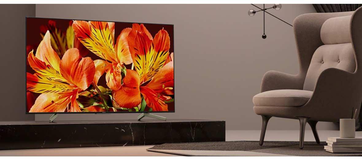 کیفیت تصویر و زیبایی تلویزیون هوشمند سونی