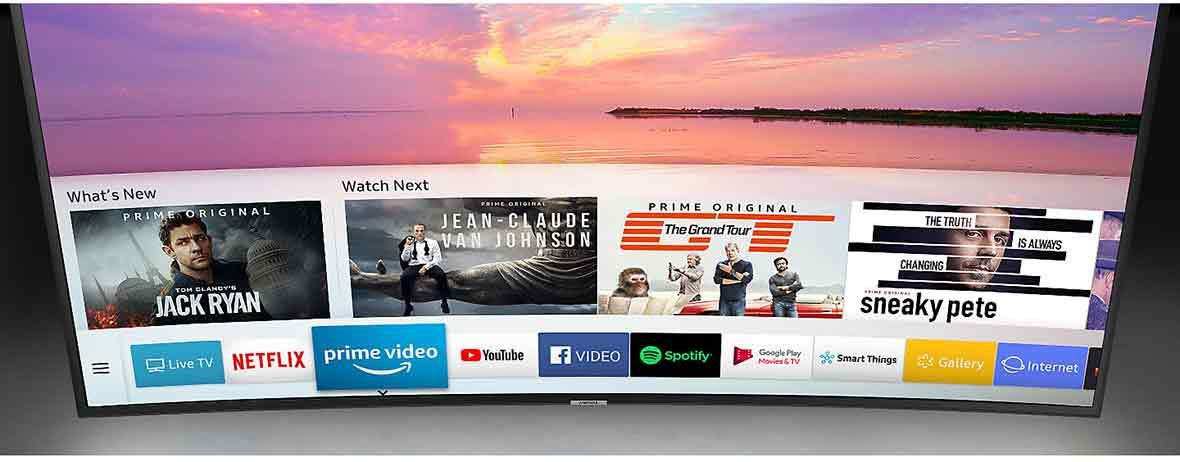 سیستم عامل و ارتباطات و اینترنت در تلویزیون هوشمند 4K سامسونگ