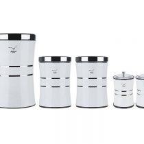 سرویس آشپزخانه 8 پارچه شفق مدل Canister