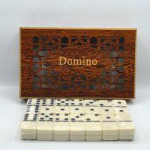 دومینو سنگی جعبه چوبی