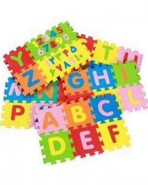 پازل اعداد و حروف لاتین فومی کوچک
