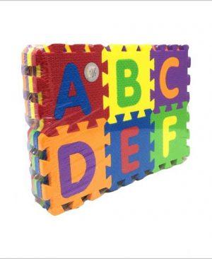 پازل اعداد و حروف لاتین فومی بزرگ